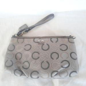 AUTHENTIC Coach wristlet wallet purse